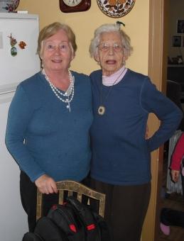 Mamma og mormor