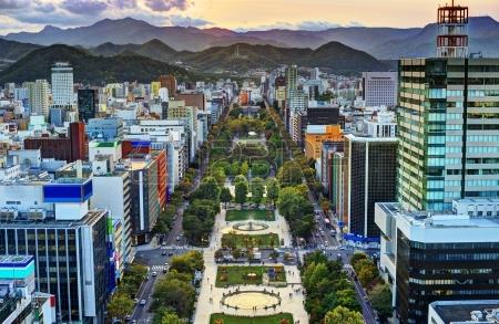 20832878-cityscape-of-sapporo-hokkaido-japan-at-odori-park