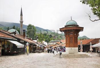 36183661-sebilj-fountain-on-bascarsija-square-in-sarajevo-bosnia-and-herzegovina