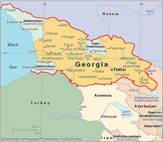 georgia kart Georgia   Svennie georgia kart