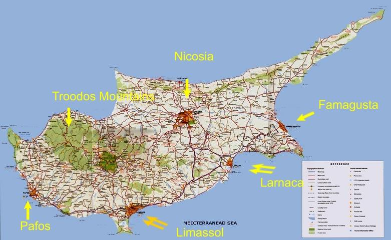 pafos kypros kart Kypros | Svennie pafos kypros kart