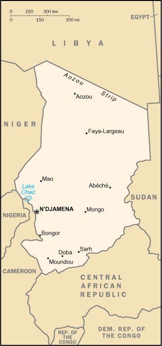 tsjad kart Tsjad | Svennie tsjad kart