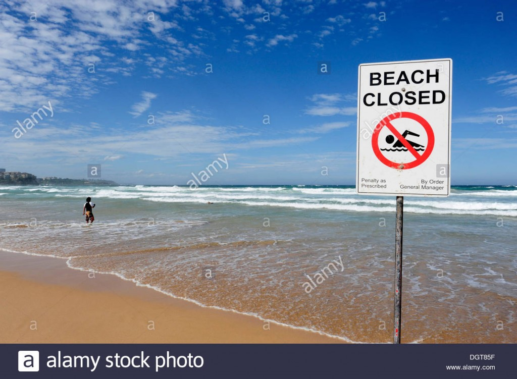 sign-no-swimming-beach-closed-manly-beach-north-sydney-new-south-wales-DGT85F