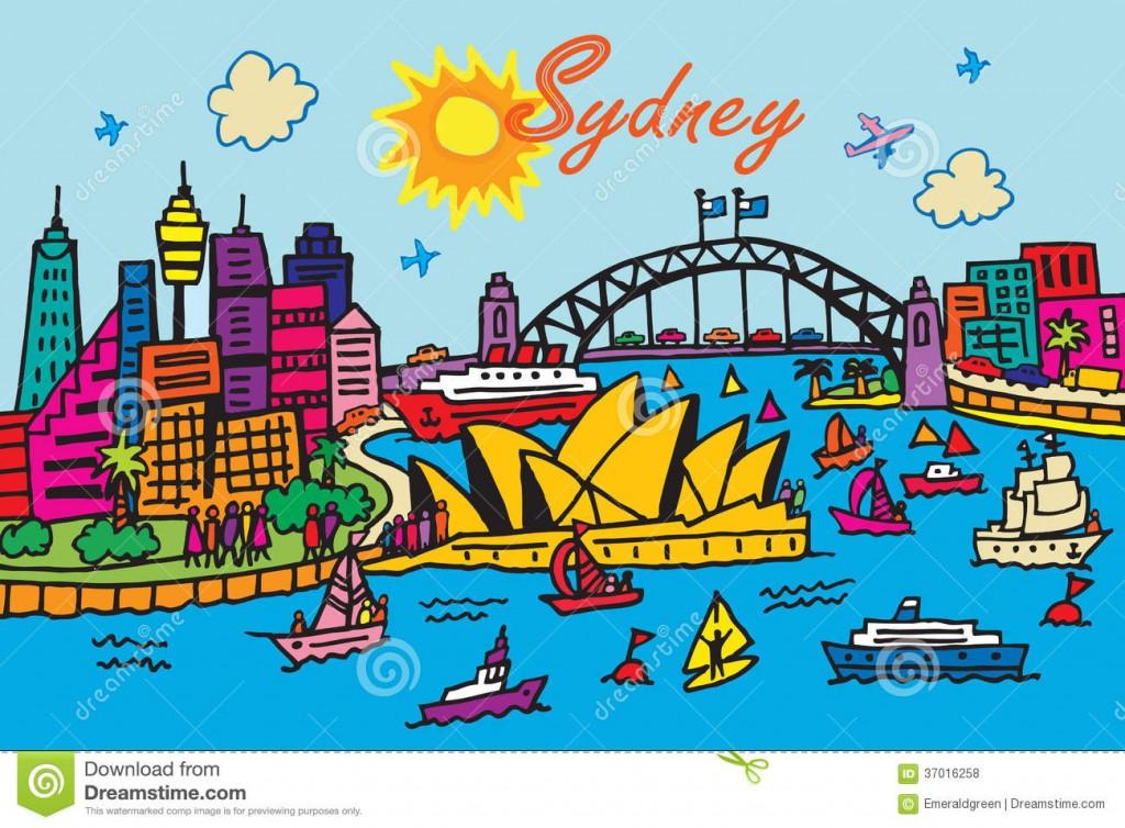 sydney-australia-cartoon-style-illustration-37016258 (1)