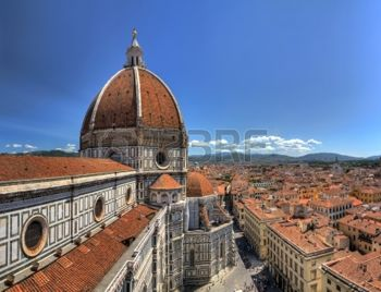 15880728-wide-angle-hdr-view-on-the-florence-cathedral-from-the-bell-tower-next-to-it-in-florence-italy