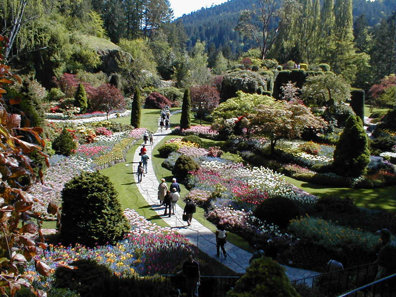 Vancouver island a crazy excursion svennie - Best time to visit butchart gardens ...